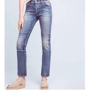 Anthropologie Pilcro Parallel Knee Patchwork Jeans